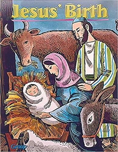 Bible Big Books: Jesus' Birth (Board Book)