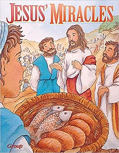 Bible Big Books: Jesus' Miracles (Board Book)