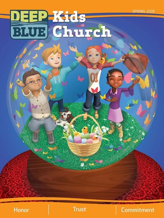 Deep Blue Kids Church Spring 2018 (Paperback)