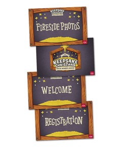 Keepsake Christmas: Event Signs Poster Pack (Poster)