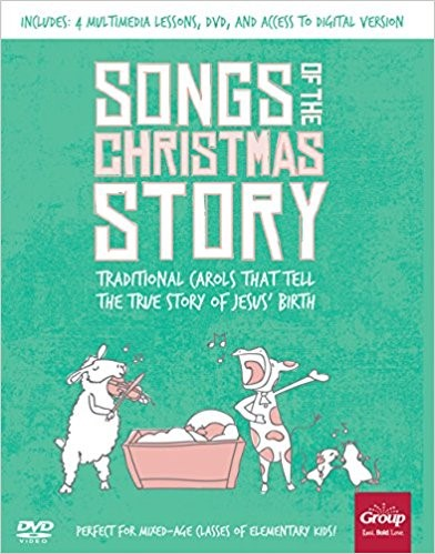 Songs Of The Christmas Story (Paperback/CD Rom)