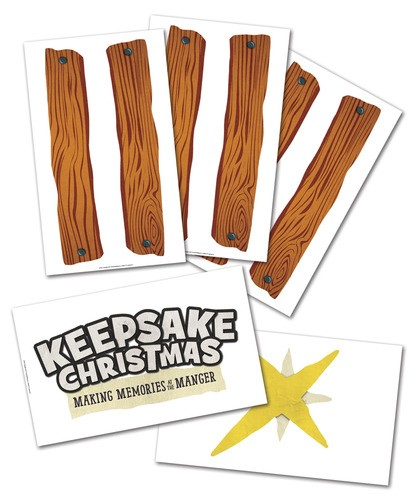 Keepsake Christmas: Build-a-Stable Giant Poster Pack (Poster)