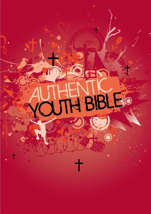 ERV Authentic Youth Bible Red (Hard Cover)