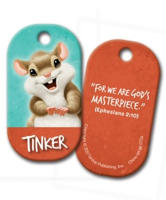 Tinker Buddy Tag (Pack of 5) (Keyring)
