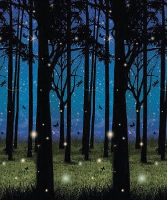 Twilight Forest Plastic Backdrop (Other Merchandise)
