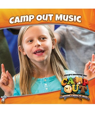 Camp Out Music CD (CD-Audio)
