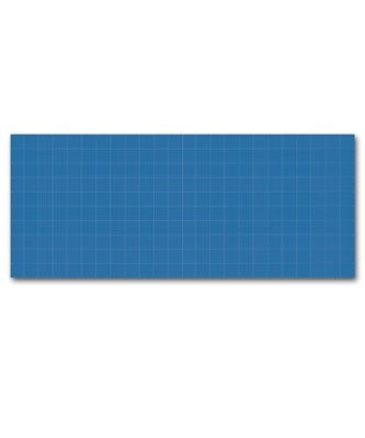Blueprint Plastic Backdrop (Other Merchandise)