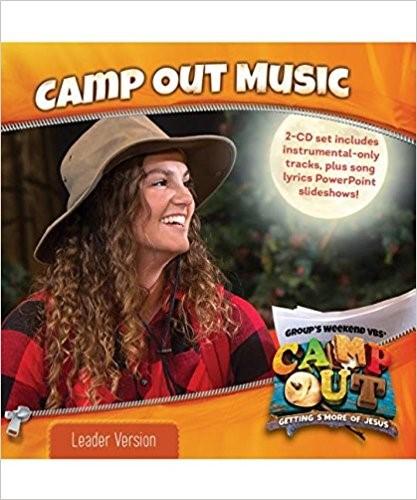 Camp Out Music Leader Version 2-CD Set (CD-Audio)