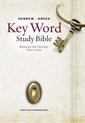 The CSB Hebrew-Greek Key Word Study Bible (Hard Cover)