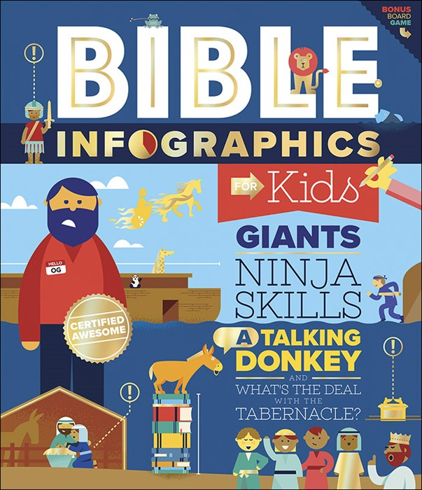 Bible Infographics for Kids (Hard Cover)