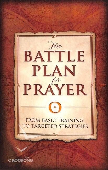 The Battle Plan For Prayer (ITPE)
