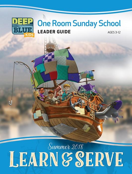 Deep Blue Kids Learn & Serve One Room Sunday School Extra Le (Paperback)