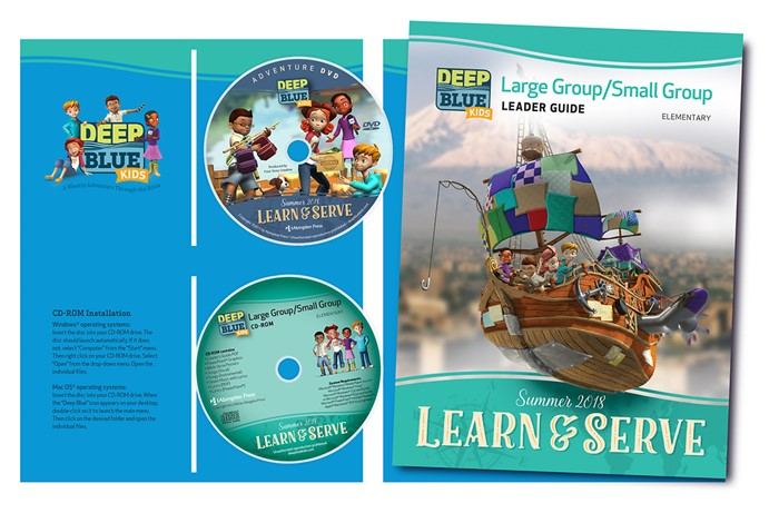 Deep Blue Kids Learn & Serve Large Group/Small Group Kit Sum (Kit)
