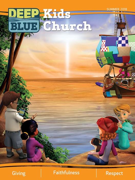Deep Blue Kids Church Summer 2018 (Paperback)