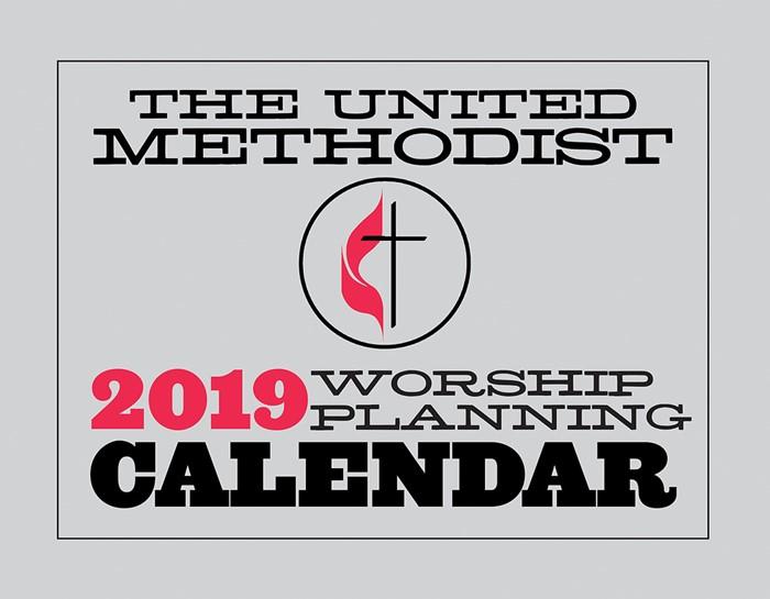 The United Methodist Worship Planning Calendar 2019 (Spiral Bound)