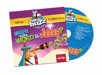 Buzz Grades 5&6: Where In The World Is Jesus? CD Winter 2017 (CD-Audio)