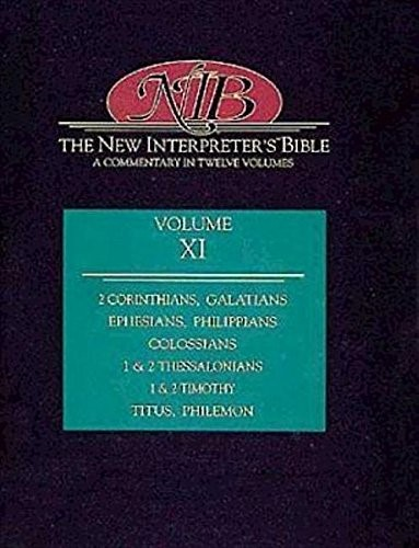 New Interpreter's Bible Volume XI (Hard Cover)