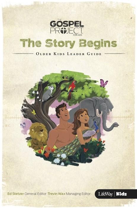 Story Begins, The: Older Kids Leader Guide (Paper Back)