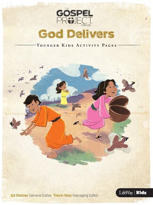 God Delivers: Younger Kids Activity Pages (Paper Back)