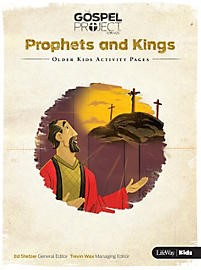 Prophets And Kings: Older Kids Activity Pages (Paper Back)