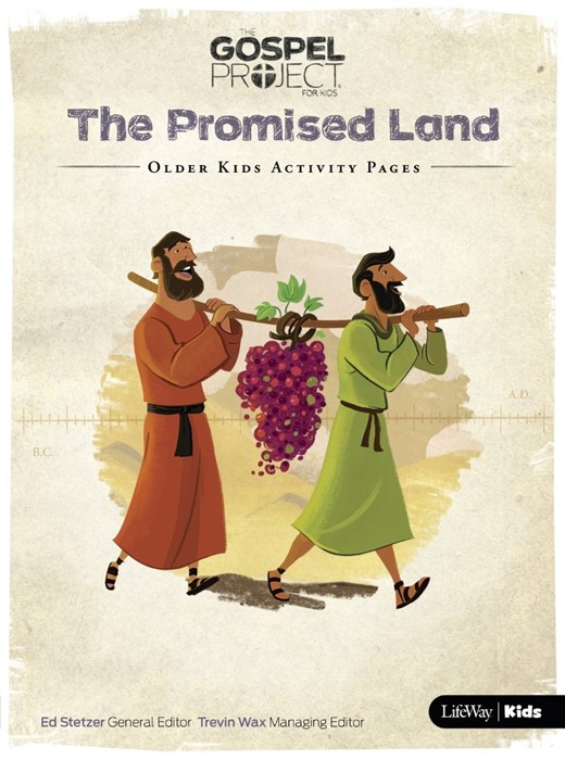 Promised Land, The: Older Kids Activity Pages (Paper Back)