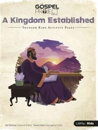 Kingdom Established, A: Younger Kids Activity Pages (Paper Back)