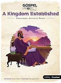 Kingdom Established, A: Preschool Activity Pages (Paper Back)
