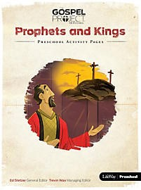 Prophets And Kings: Preschool Activity Pages (Paper Back)