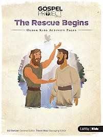 Rescue Begins, The: Older Kids Activity Pages (Paper Back)