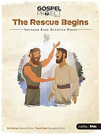 Rescue Begins, The: Younger Kids Activity Pages (Paper Back)