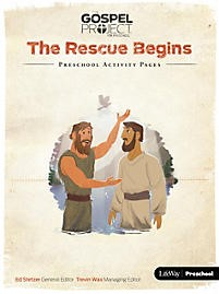 Rescue Begins, The: Preschool Activity Pages (Paper Back)