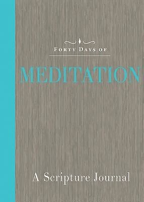 Forty Days Of Meditation, Common English Bible (Paper Back)