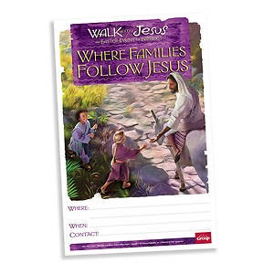 Walk With Jesus Publicity Poster (Pack of 5) (Poster)