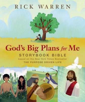 God's Big Plans For Me Storybook Bible (Hard Cover)
