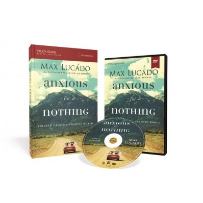 Anxious For Nothing Study Guide With DVD (Paperback w/DVD)
