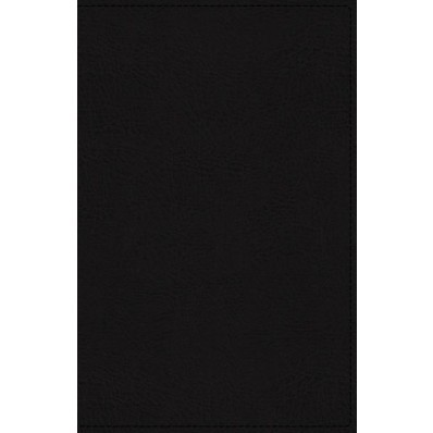 KJV Deluxe Reference Bible, Black, Personal Size Giant Print (Genuine Leather)