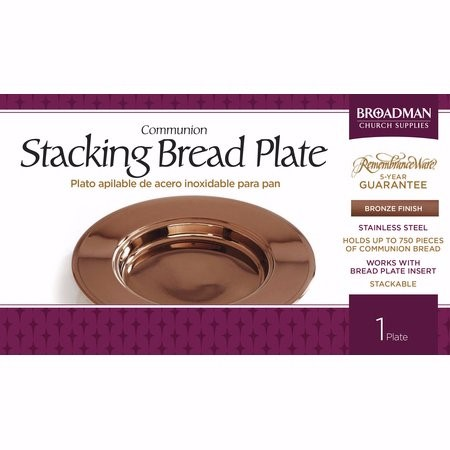 Bronze Stacking Bread Plate (General Merchandise)