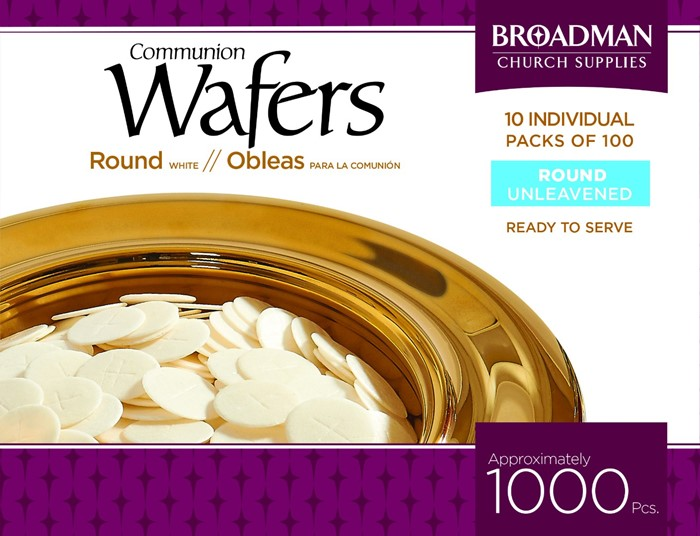 Communion Wafers- Box of 1000 (General Merchandise)