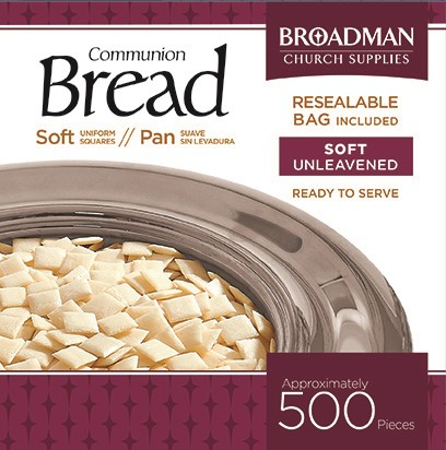 Soft Communion Bread- Box of 500