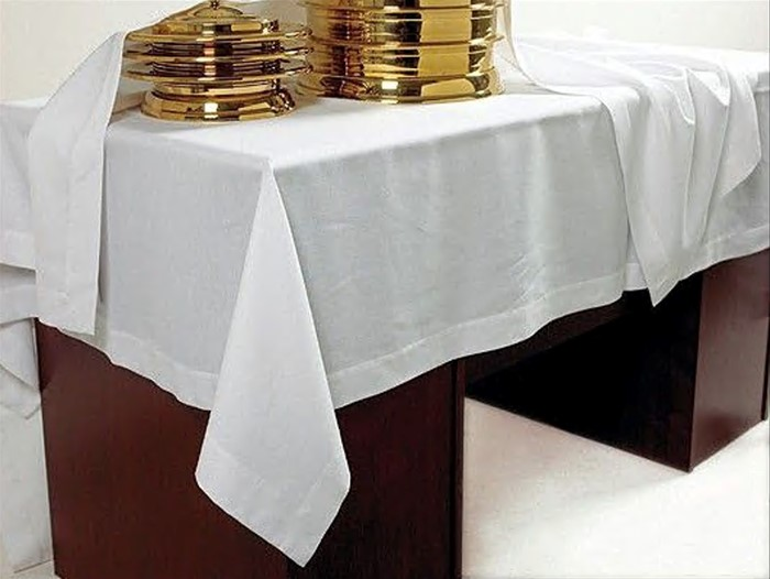 Communion Table Cover- 55/54 Blend (General Merchandise)