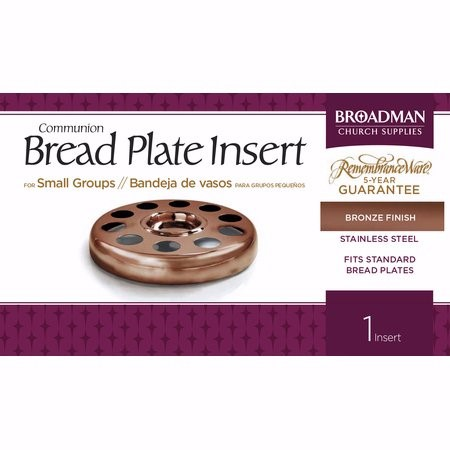 Bronze Bread Plate Insert (General Merchandise)