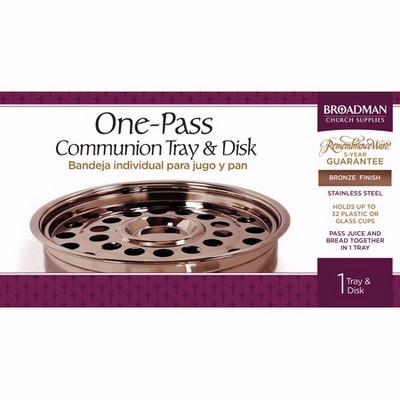Bronze One-Pass Tray And Disc (General Merchandise)