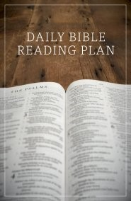 Daily Bible Reading Plan (Pack of 25) (Pamphlet)