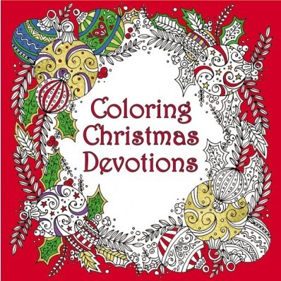 Coloring Christmas Devotions (Paperback)