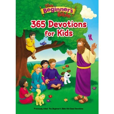 The Beginner's Bible 365 Devotions For Kids (Hard Cover)