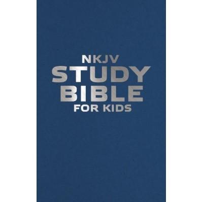 NKJV Study Bible For Kids (Paperback)