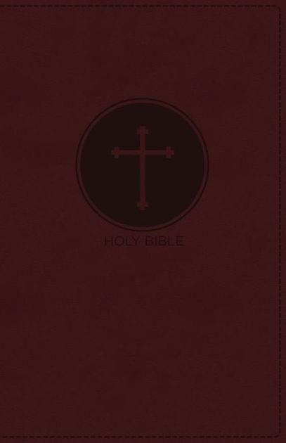 NKJV Deluxe Gift Bible, Burgundy, Red Letter Ed. (Imitation Leather)