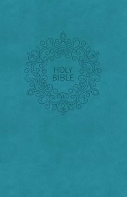 NKJV Value Thinline Bible, Compact, Blue, Red Letter Ed. (Imitation Leather)