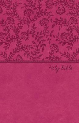 NKJV Value Thinline Bible, Pink, Red Letter Ed. (Imitation Leather)