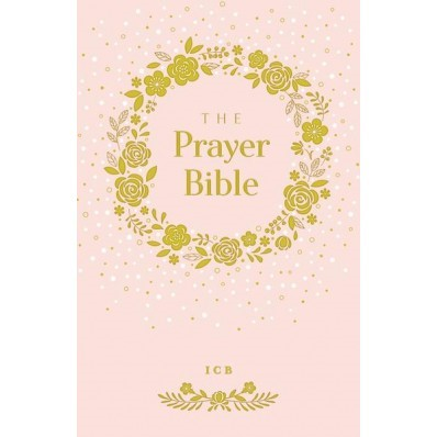 ICB Prayer Bible For Children, Pink (Hard Cover)